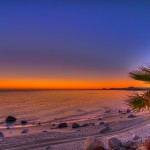The Blue Hour Over the Sea of Cortez