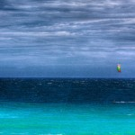 Kiteboarders in Los Barriles