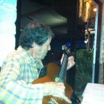 Wolfy plays flamenco on my Jose Rameriz at Otra Vez